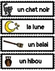 (FRENCH) Word Wall: Halloween
