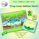 """FROG CREEK ADDITION GAME"" from LilyVale Learning"