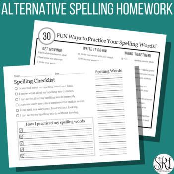 FUN Spelling Worksheets