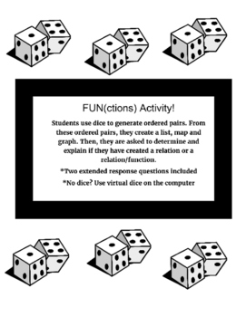 """""""FUNctions Activity"""" (Functions/Relations)"""