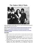 """Fahrenheit 451"" & The Salem Witch Trials"