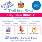 """Fairy Tales"" THE WHOLE ENCHILADA Boom Card Bundle (Troll"