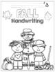 Fall Handwriting No-Prep