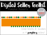 {Fall 2016} Digi-Works Toolkit ll Pumpkin Page Accents