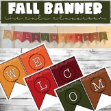 ☀️ Fall Banner (Blank Template Included)