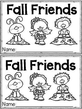 """""""Fall Friends"""" (Fall/October Emergent Reader Dollar Deal)"""