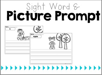 {Fall Fun!} Sight Word Sentences & Writing Prompts