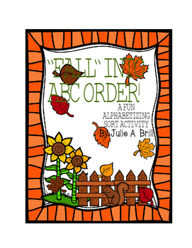 """""""Fall"""" Into ABC Order"""