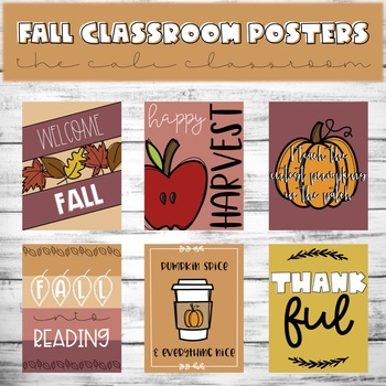 ☀️ Fall Into Reading Poster