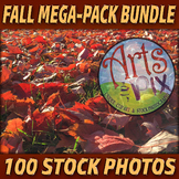 "Stock Photos - ""Fall"" MEGA-Pack Bundle - 100 Autumn themed"