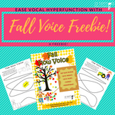 **Fall Voice Freebie**