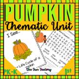 #TreatsforK-1 Pumpkin Thematic Unit   Emergent Reader Life
