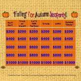 """Falling"" into Autumn Jeopardy"