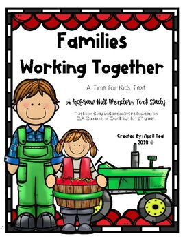 """""""Families Working Together"""" A Time for Kids Text Study"""
