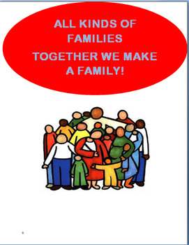 "Family"" All Kinds of Families""  Lesson, Activity"