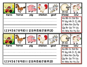 -Farm -Farm -Farm - Desk Tags