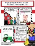 5 Senses Activities Farmer What Do You Hear? Class-Made Bo
