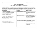 """Father William"" Poetry Point of View Mini-lesson"