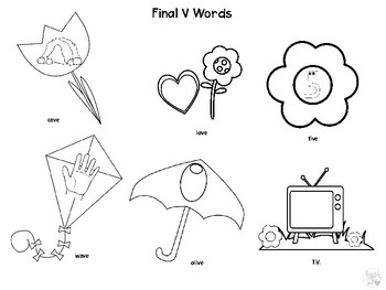 Spring Articulation Coloring Pictures Worksheets Print and Go! No Prep!