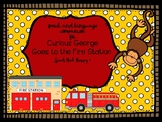 """""""Curious George Visits the Fire Station"""" Book Companion for Speech Therapy"""