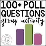 Poll Questions Group Activity for Speech Therapy No Print