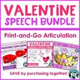 Valentine Speech Bundle