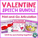 Valentine Speech Bundle