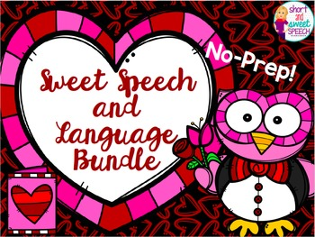 Valentine's Day MEGA Bundle for Speech and Language