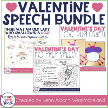 Valentine's Day Speech Therapy Bundle!