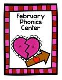 {February} Phonics Center