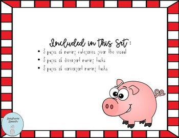 """""""Feed the Pig"""" Companion- Categories!"""
