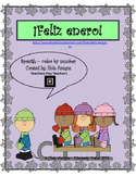 ¡Feliz enero! Spanish Color by number (4 pages)