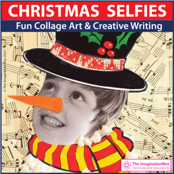 'Festive Selfies' Fun Christmas Art and Craft Project, wit