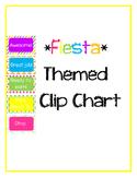 *Fiesta* Themed Clip Chart