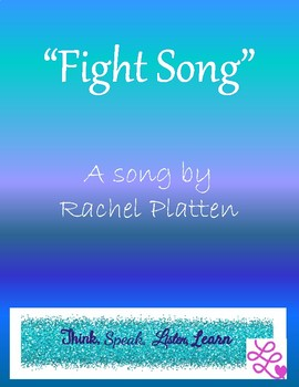 """Fight Song"" A Socratic Seminar Unit of Study"