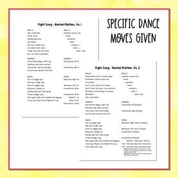 """""""Fight Song"""" - Rachel Platten: Pop Song - Folk Dance, Routine/Choreography"""