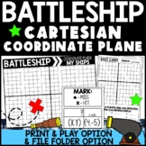 Cartesian Coordinate Plane Battleship