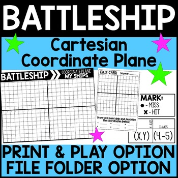 Cartesian Coordinate Plane Battleship