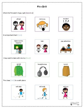 """""""Fill In The Blank""""  Social Narratives For Individuals With Autism"""