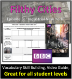 """""""Filthy Cities: Industrial New York City"""" - Video Graphic"""