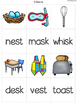 {Final Blends Match It} Word Work Reading Station Literacy