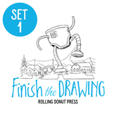 """Finish the Drawing"" Set #1"