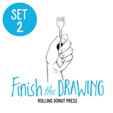 """Finish the Drawing"" Set #2"
