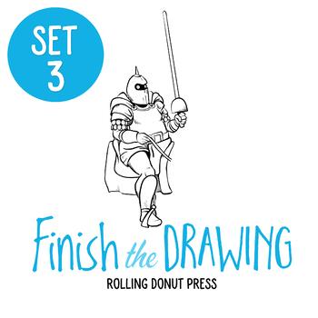 """Finish the Drawing"" Set #3"