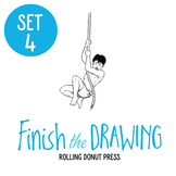 """Finish the Drawing"" Set #4"