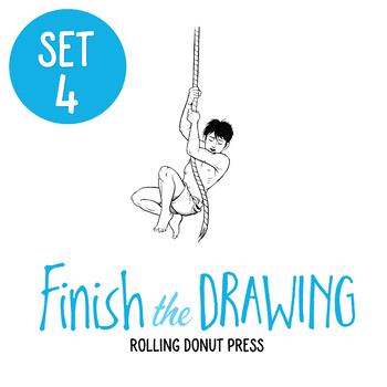 """Finish the Drawing"" Set #4"