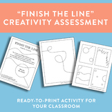 """Finish the Line"" Creativity Assessment/Challenge"