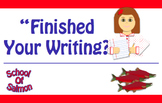 """Finished"" Your Writing?"