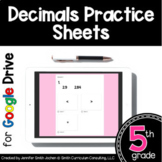 #Fireworks2020 5th Grade Practice Sheets Decimals | Distan