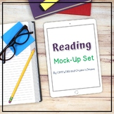 iPad  Mockups   Styled Images with Books
